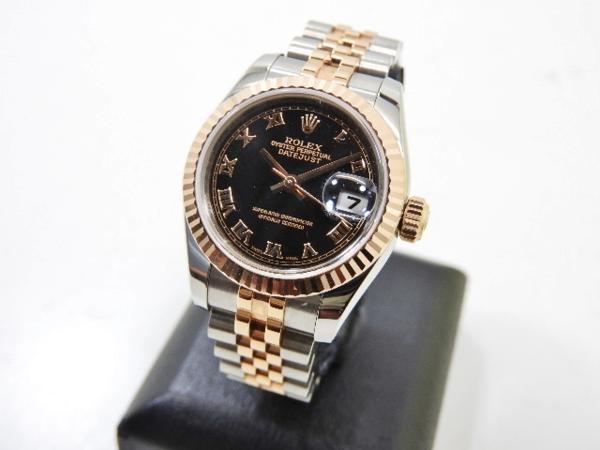 ロレックス 極美品 ROLEX デイトジャスト レディース 腕時計 179171 PG×SS M番 付属品有_画像2