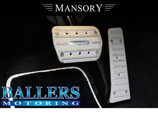 MANSORY BENZ W217 Sクーペ アルミペダルセット 左ハンドル用( アクセル ブレーキ 内装 エアロ )_画像1
