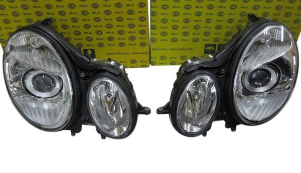 【送料無料】W211 E280 E320 (前期) バイキセノン ヘッドライト_画像1