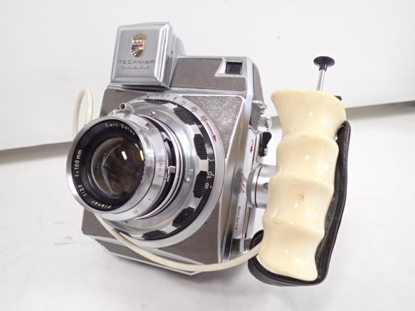 Linhof カメラ ボディ Press レンズ Planar F2.8 100mm リンホフ ⇔ 4D727-39