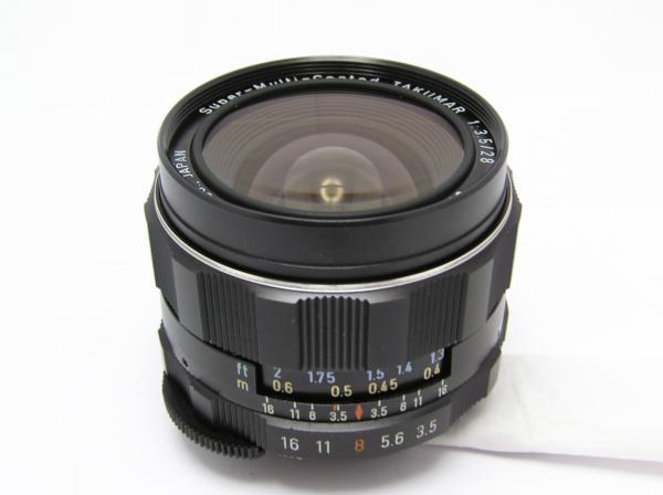 ★ハロ-カメラ★5699 smc PENTAX 28mm F3.5 動作品 難有 マニュアル用 現状_画像2