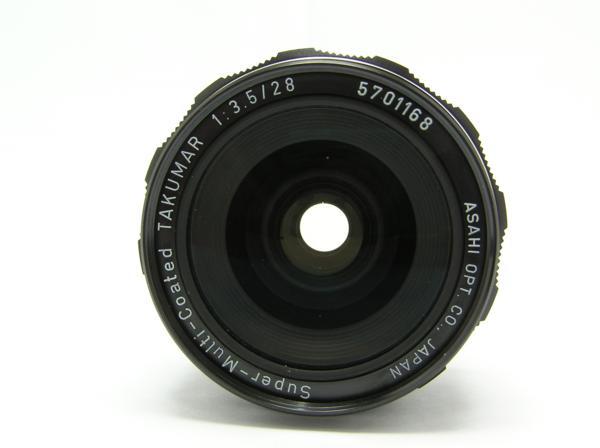 ★ハロ-カメラ★5699 smc PENTAX 28mm F3.5 動作品 難有 マニュアル用 現状_画像4