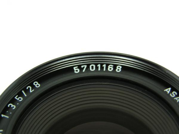 ★ハロ-カメラ★5699 smc PENTAX 28mm F3.5 動作品 難有 マニュアル用 現状_画像8
