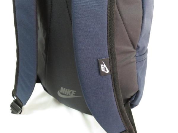 1 NIKE ナイキ リュックサック デイパック デイバッグ メンズ レディース 紺 ブランド 新品 人気 44cm 22L BA4863 通学 通勤 バックパック_画像5
