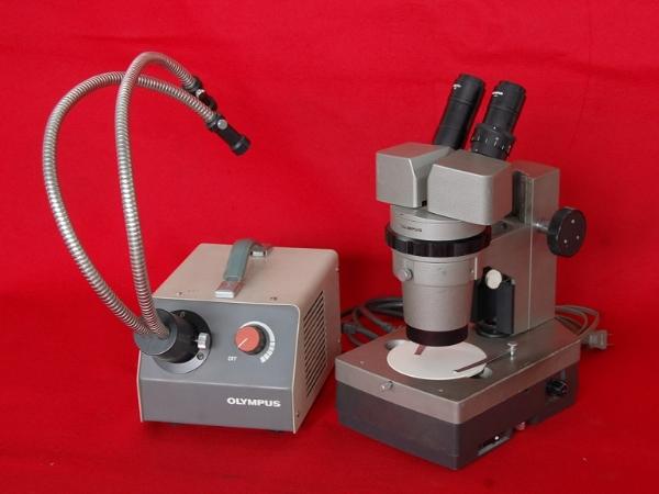 【OLYMPUS/オリンパス/双眼実体顕微鏡/VMZ/ファイバー照明装置/LGPS】理化学実験_画像1