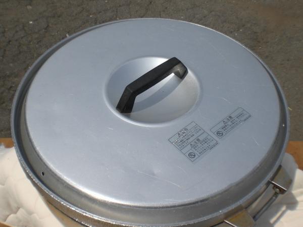 №34 炊飯器 厨房 業務用 ガス炊飯器 リンナイ RR-40S 8.0L 4升炊き 店舗 中古_画像2