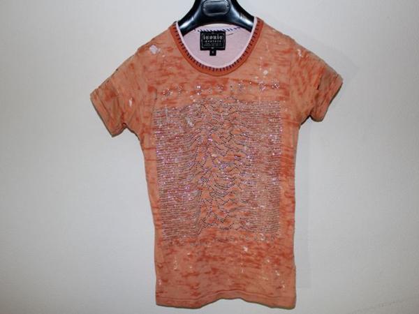 アイコニック ICONIC COUTURE レディース半袖Tシャツ Sサイズ NO20 新品_画像1