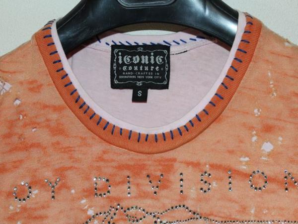 アイコニック ICONIC COUTURE レディース半袖Tシャツ Sサイズ NO20 新品_画像2
