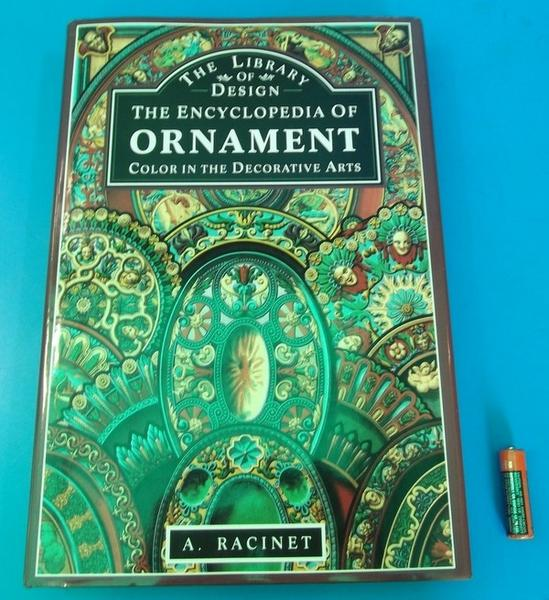 洋書 『装飾百科』The Encyclopedia of Ornament Albert Racinet_画像1