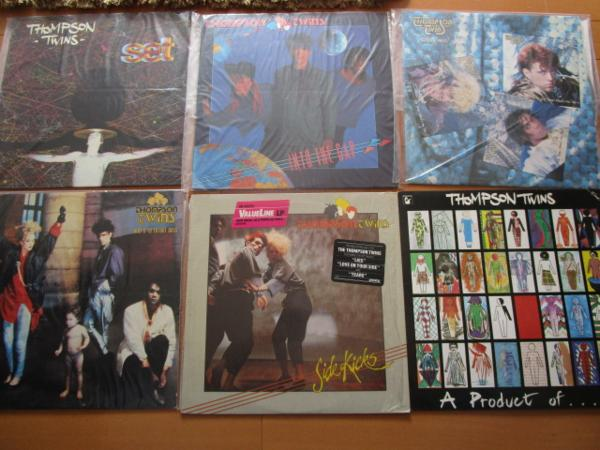 ☆★LP/トンプソン・ツインズ/set・into the gap・A Product of,,,・side kicks・here's to future days・ the lewis carol ★_画像1