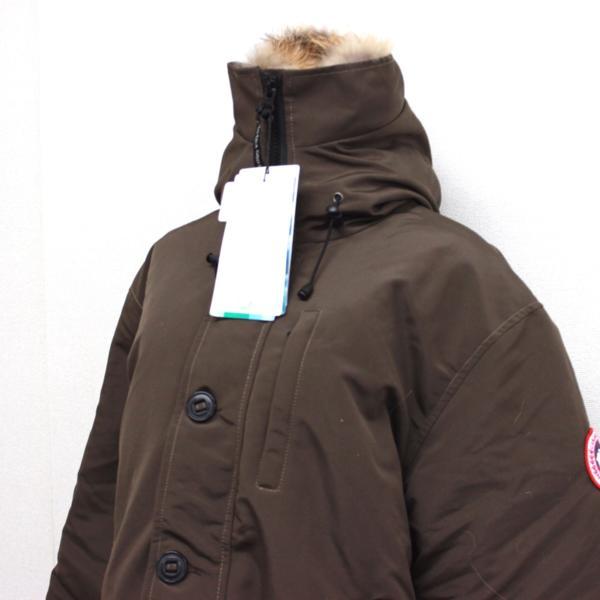 カナダグース CANADA GOOSE ジャンパー ダウンコート ファーフード付き ダウンジャケット メンズ S/P ブラウン_画像2