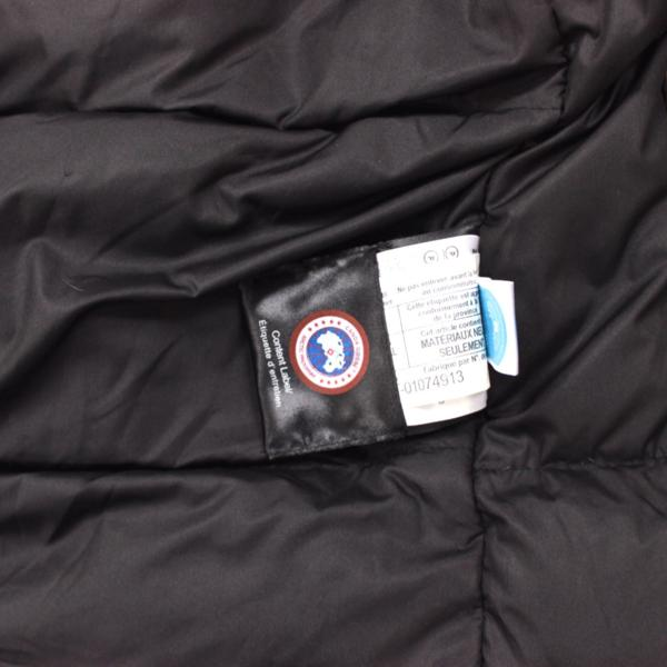 カナダグース CANADA GOOSE ジャンパー ダウンコート ファーフード付き ダウンジャケット メンズ S/P ブラウン_画像7