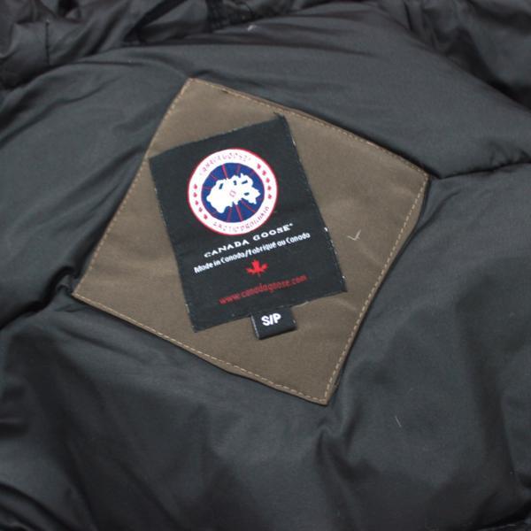 カナダグース CANADA GOOSE ジャンパー ダウンコート ファーフード付き ダウンジャケット メンズ S/P ブラウン_画像8
