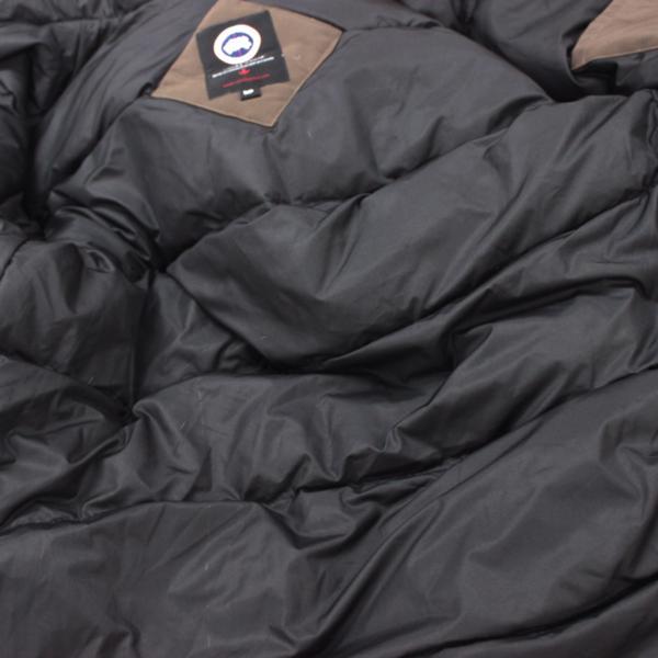 カナダグース CANADA GOOSE ジャンパー ダウンコート ファーフード付き ダウンジャケット メンズ S/P ブラウン_画像9