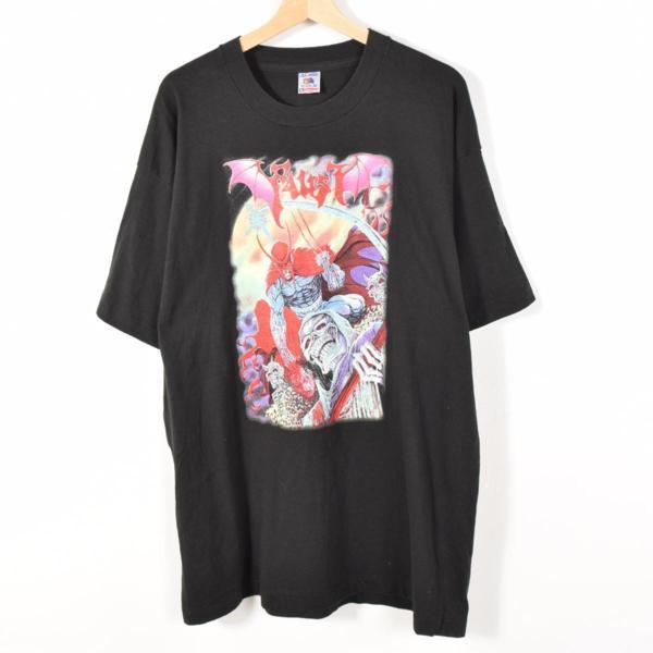 ファウスト バンドTシャツ USA製 メンズXXL /wad8158