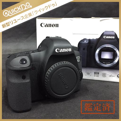 キャノン CANON EOS 6D デジタル 一眼レフ カメラ 本体 初期化済み 外箱 付属品付き