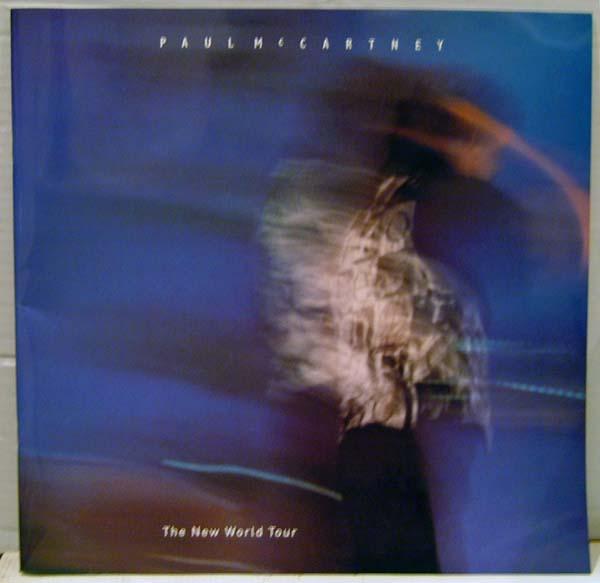 ポールマッカートニー「NEW WORLD TOUR」ツアー・パンフレット