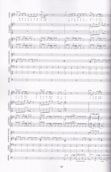 楽譜○バンドスコア JUN SKY WALKER(S)/FAN'S SELECTION VOL.2_画像3