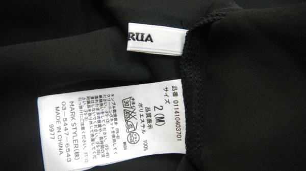 即決 C76◎MURUA ムルーア 半袖カットソー Mサイズ ブラック_画像4