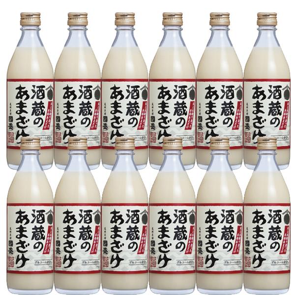 国盛 酒蔵のあまざけ (甘酒)ノンアルコール500ml×12本