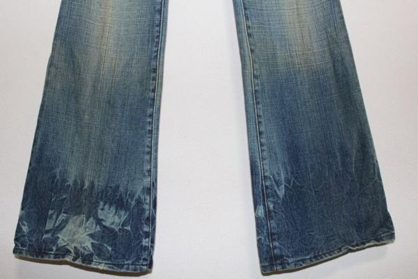 セイクレッドブルー SACRED BLUE レディースデニムパンツ ジーンズ 23インチ NO7 新品_画像3