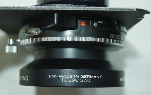 Schneider KREUZNACH SYMMAR-S 5.6/180 MULTICOATING シュナイダー レンズ 独製 0529P7h_画像4