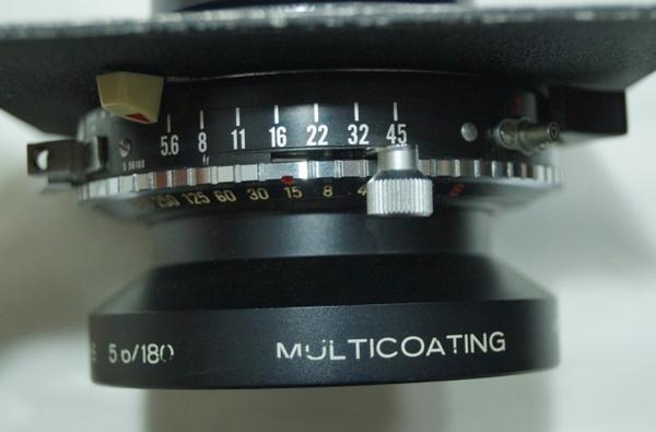 Schneider KREUZNACH SYMMAR-S 5.6/180 MULTICOATING シュナイダー レンズ 独製 0529P7h_画像7