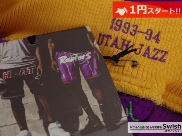 A895●just don ジャストドン●新品 JAZZ SHORTS バスケット ショーツ/ショートパンツ M 紫●_画像8