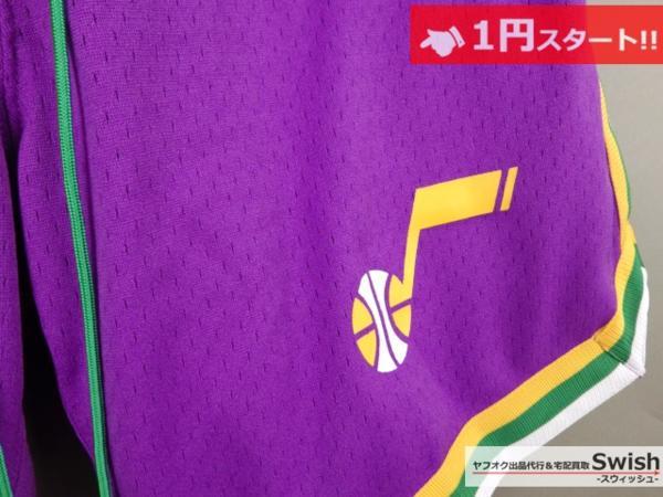 A895●just don ジャストドン●新品 JAZZ SHORTS バスケット ショーツ/ショートパンツ M 紫●_画像4
