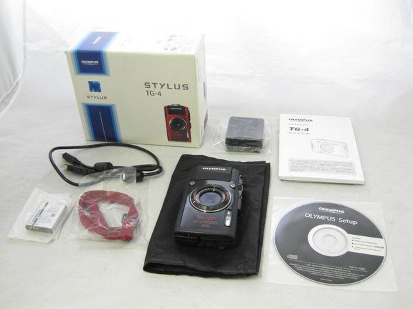 【美品1円】 Olympus オリンパス Stylus TG-4 Toughカメラ 高画質 防水 アウトドア ブラック