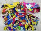 ディズニー 総柄Tシャツ 美女と野獣、リトルマーメイド、白雪姫 100cm/Sサイズ/Mサイズ 計3点 K6E14