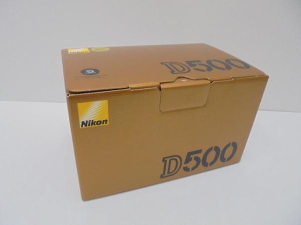 c74 ニコン デジタル一眼レフカメラ D500 ボディ 新品