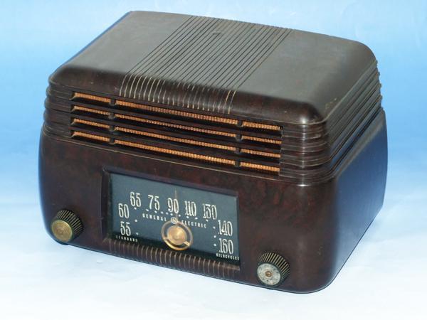 GENERAL ELECTRIC 真空管ラジオ ゼネラル ジャンク