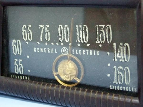 GENERAL ELECTRIC 真空管ラジオ ゼネラル ジャンク_画像3