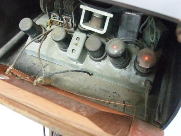 GENERAL ELECTRIC 真空管ラジオ ゼネラル ジャンク_画像4