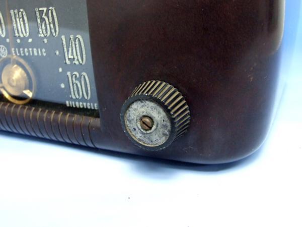 GENERAL ELECTRIC 真空管ラジオ ゼネラル ジャンク_画像6