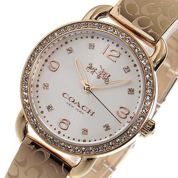 新品★コーチ COACH クオーツ 腕時計 14502355 ピンクゴールド [レディース]/本物