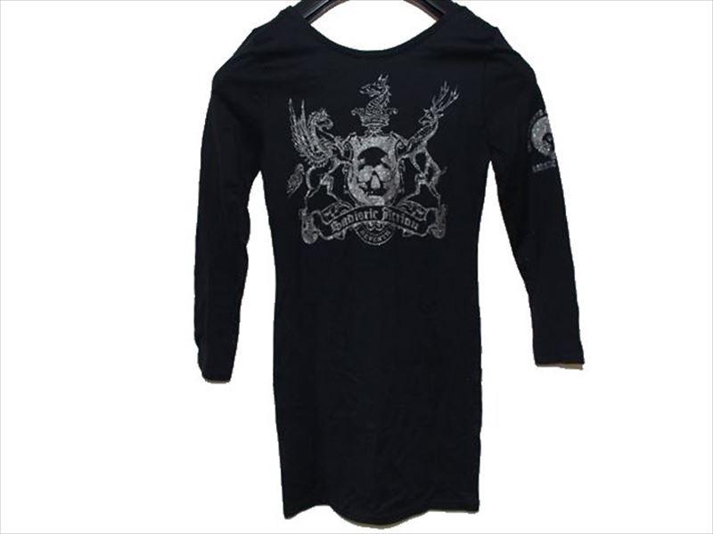 サディスティックアクション SADISTIC ACTION レディースチュニックTシャツ ブラック NO21 新品_画像4