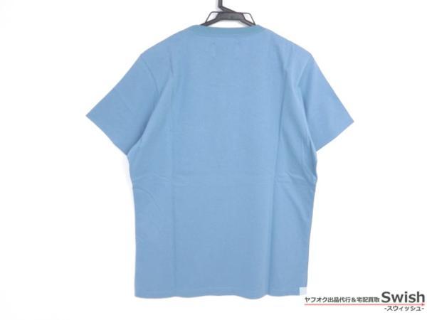 Z177■ラウンジリザード■新品 胸ポケット付きTシャツ 2 青■_画像2