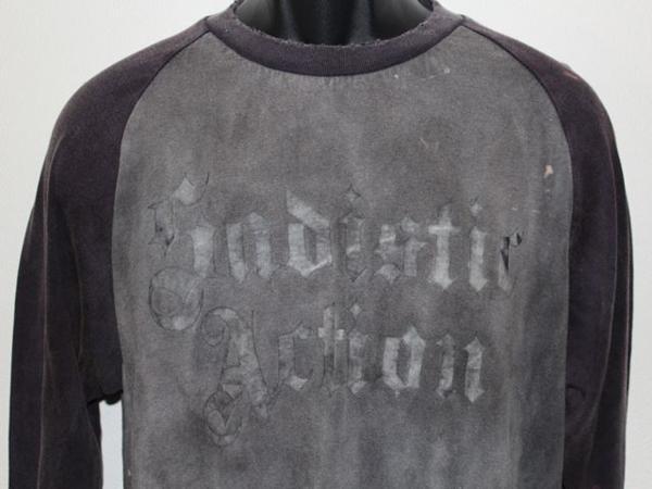 サディスティックアクション SADISTIC ACTION メンズ長袖Tシャツ Mサイズ 新品 NO4_画像3