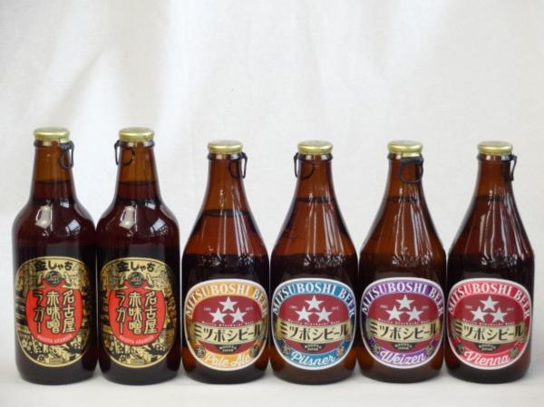 クラフトビールパーティ6本セット名古屋赤味噌ラガー330ml_画像1