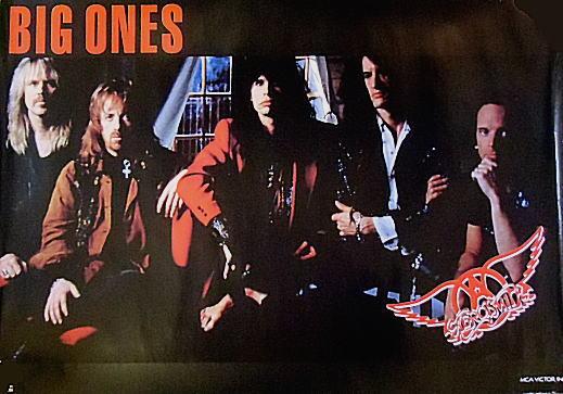 即決!エアロスミス(Aerosmith)/『ビッグ・ワンズ(Big Ones)』プロモーションポスター
