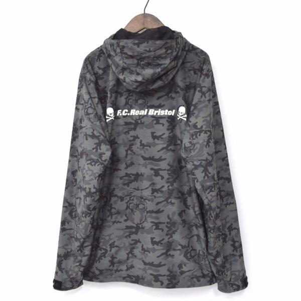 【国内正規品】mastermind JAPAN×FCRB bristol CAMOUFLAGE JACKET カモフラージュジャケット ブラック 黒 L 迷彩 レアルブリストル
