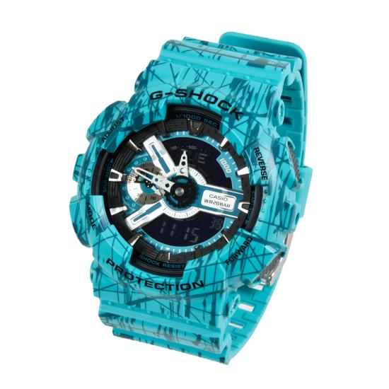 15b5672f93 CASIO G-SHOCK メンズ クオーツ 腕時計 GA-110SL-3ADR 海外
