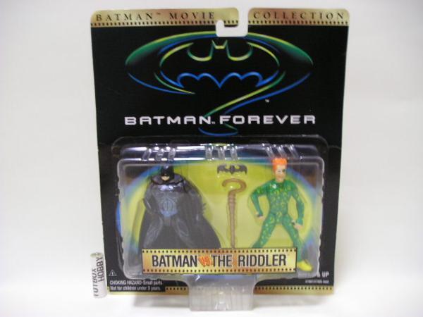 TB■バットマンムービーコレクション バットマンvsザ・リドラー グッズの画像