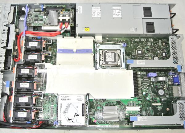 IBM System x3550M2 XeonE5506-2.13GHz/16GB/73GB*2/RAID/AC*2_画像3