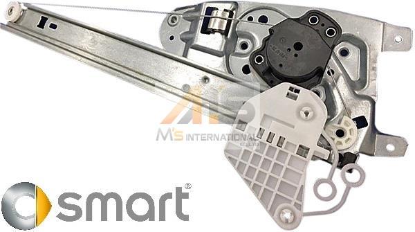 【M's】SMART スマート クーペ 450 (FORTWO)純正品 パワーウィンドーレギュレーター(左側)//ウィンドーレギュレター Q0002691V003000000_画像1