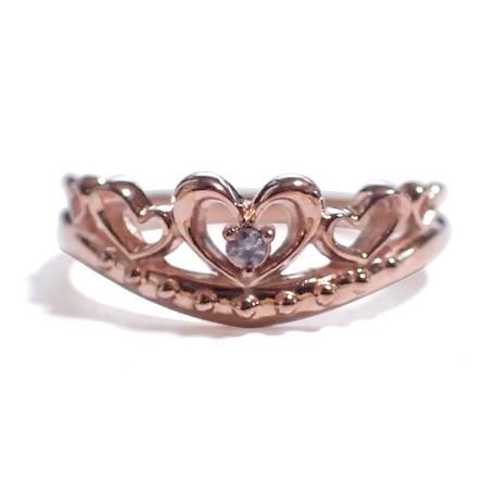 12月の誕生石 タンザナイト シルバーアクセサリー 純銀 シルバー925 リング 指輪 ティアラ レディース 誕生日 プレゼント ギフト BOX付_画像1