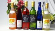 国産甘口ロゼ×白ワイン6本セット(完熟赤ナイアガラ