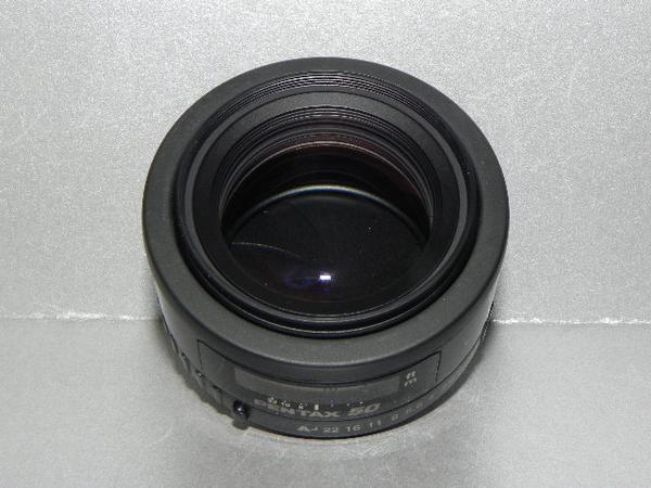 **中古良品 PENTAX-FA 50mm/F1.4 レンズ*_画像2